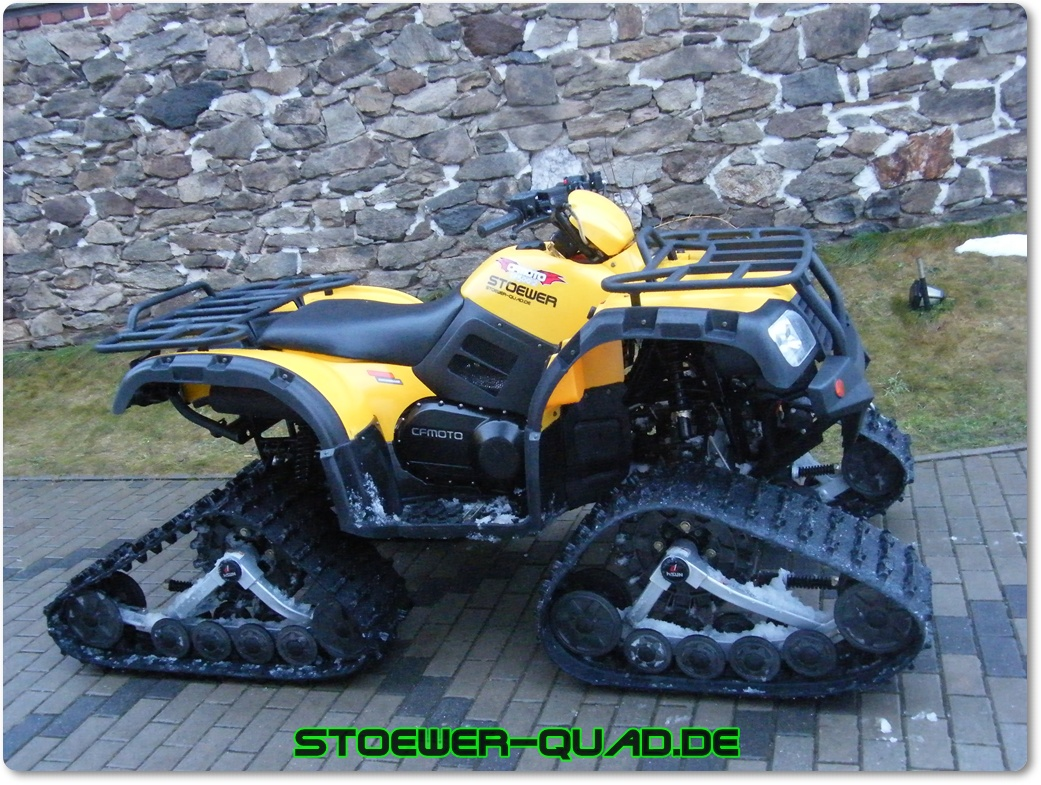 quad atv raupen ketten kit stoewer quad