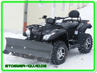 Quad / ATV Lame à neige 152cm Set complet