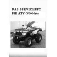 Serviceheft für die ATLAS 500 (CF500-2 & CF500-2A)