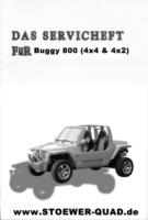 Serviceheft für den Buggy 800
