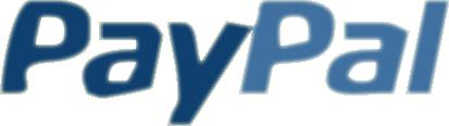 Dieser Shop unterstützt die Zahlung durch PayPal.