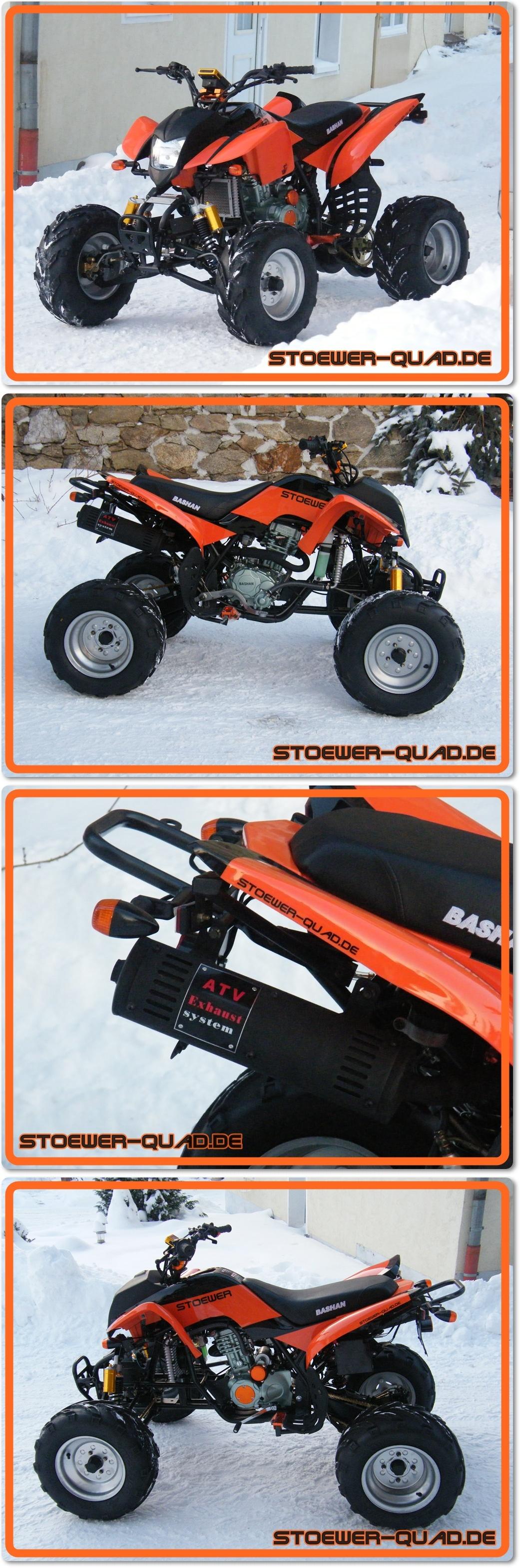 quad bashan bs200s 7 orange stoewer quad. Black Bedroom Furniture Sets. Home Design Ideas