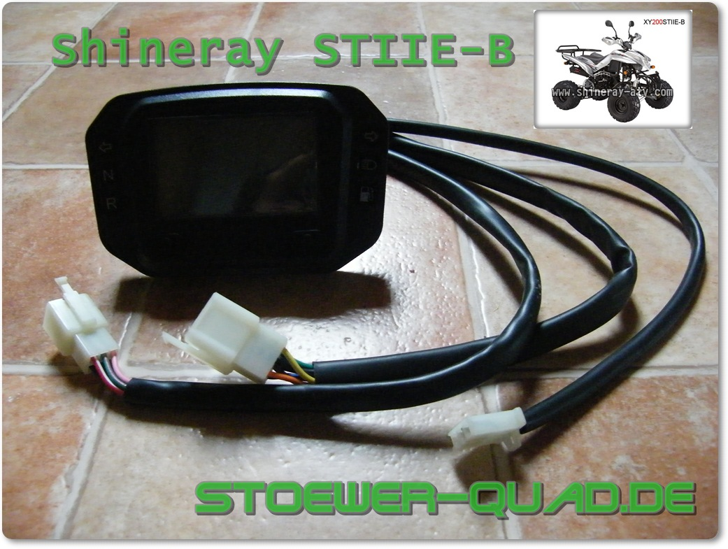 Shineray Tacho XY200STIIE-B Digital