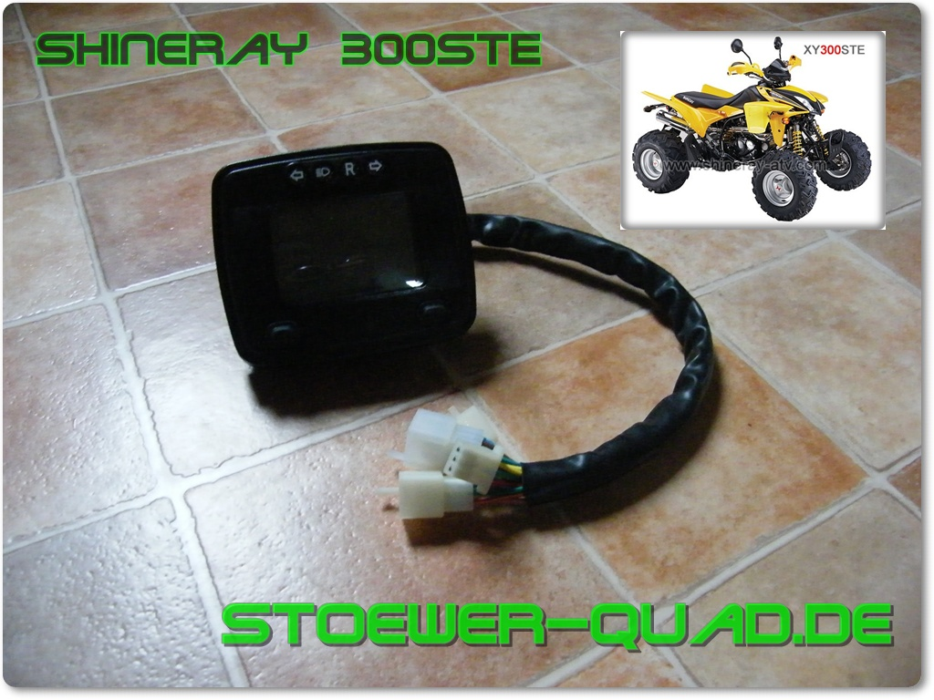 Shineray Tacho XY300STE Digital