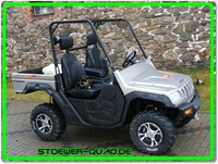 Quad UTV Side by Side Atlas 500 4x4, Grumbler