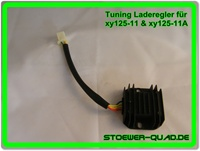 Tuning Laderegler für Shineray xy125-11 & xy125-11A